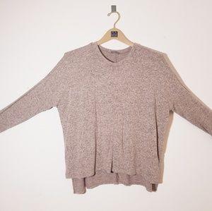 Sweaters - Light Pink/Black Sweater